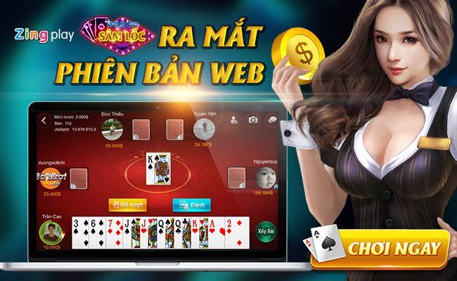 Game chơi đánh bài online Sâm ZingPlay